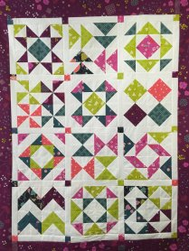 Half Square Triangle Sampler